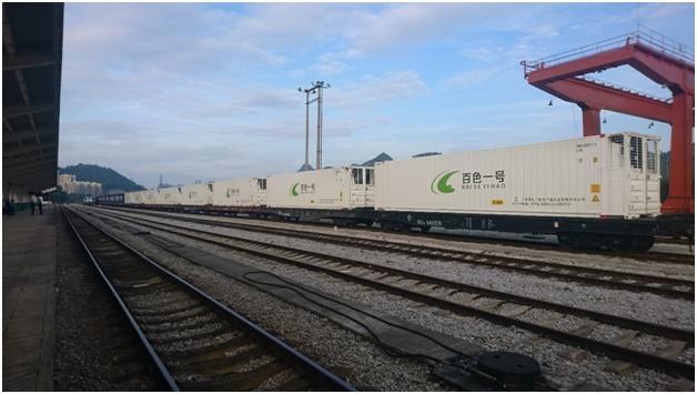 ĐSVN khai trương chuyến tàu container chuyên tuyến đầu tiên đi Trung Quốc