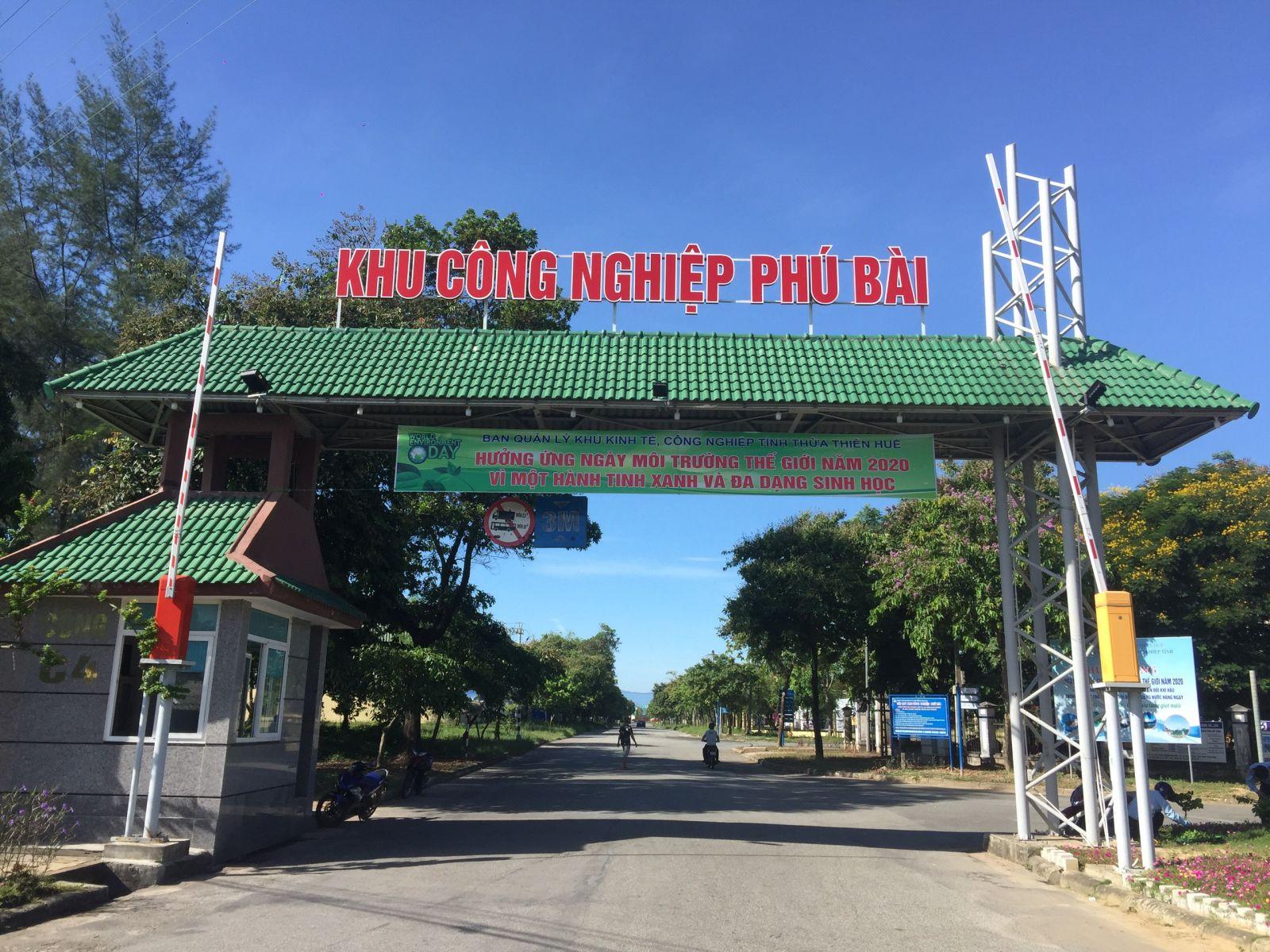 Thừa Thiên Huế: Kêu gọi đầu tư xây dựng hạ tầng Khu Công nghiệp Phú Bài