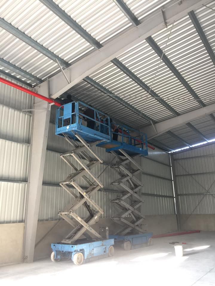 Thi công lắp đặt hệ thống PCCC và chống sét CT nhà xưởng Công ty TNHH MTV Nhựa bao bì Việt Phát