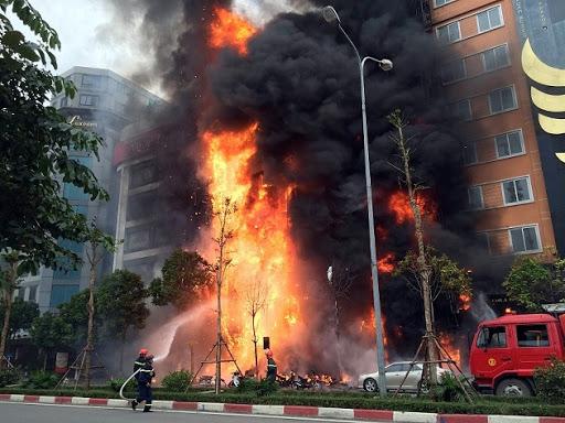 Thông cáo báo chí về tình hình cháy, nổ tháng 5 năm 2021