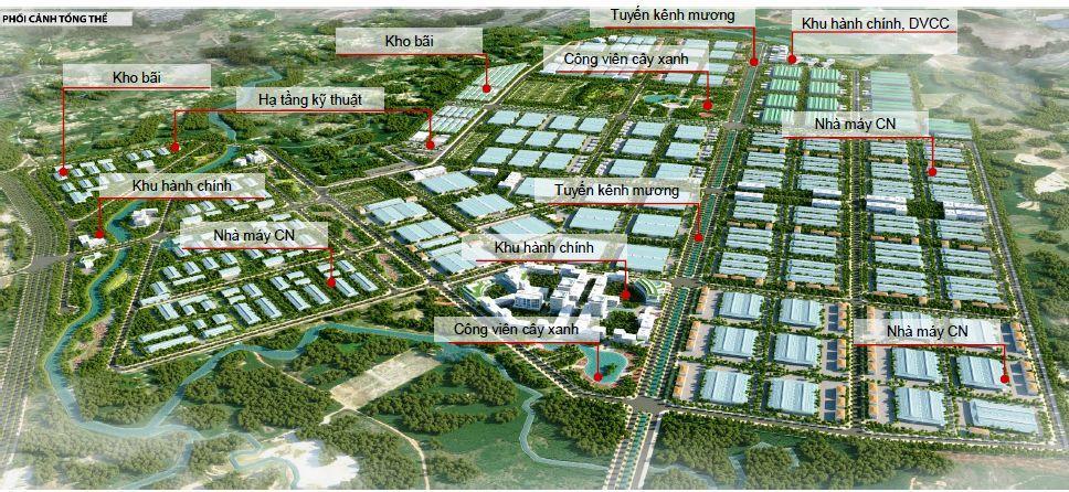 Khu công nghiệp Phú Bài giai đoạn IV: khu công nghiệp tổng hợp xanh, sạch, công nghệ tiên tiến